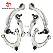 Fit Bmw F10 Front Upper And Lower Rearward And Forward Control Arm W/ Bushings Kit