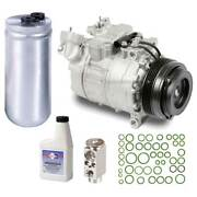 For Bmw 540i And Bmw M5 Oem Ac Compressor W/ A/c Repair Kit