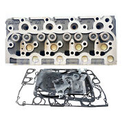 V1902 Cylinder Head Assy And Full Gasket Set For Kubota R400 Utility Tractor