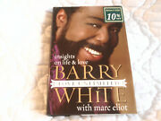 Barry White Insights On Life And Love Unlimited Hc Book Signed Marc Eliot 1st Ed