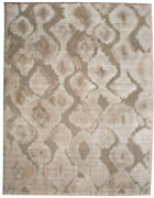 Feizy Saphir Zam Collection Area Rug Pewter/gray 9'-8 X 12'-7
