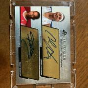 Sign Card tracy Mcgrady And Carmelo Anthony