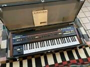 Roland Juno-60 Synthesizer Used 61 Keys No Problem For Normal Used Working Rare