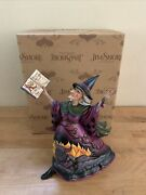 Jim Shore Something Wicked Evil Witch Figurine Enesco 4034434 Rare