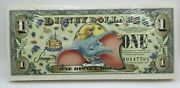 2005 1 Disney Dollars Dumbo Sealed Lot X 100 A Series Uncirculated No Barcode