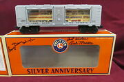 Lionel 6-52289 Silver Anniv National Toy Train Museum Signed Bullion Boxcar