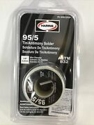 Harris 95561/2pop Solid Wire Solder,lead Free,95/5 Tin Antimony, New, Free Ship