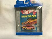 1/64 Hot Wheels 30 Years Of Hw Flying Colors 57 Chevy With Redlines From 1998