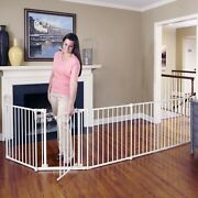 Toddleroo By North States 3 In 1 Metal Superyard 144 Long Extra Wide Baby G...