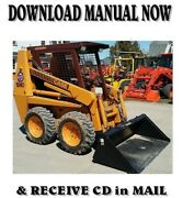 1995 Case 1840 Skid Steer Loader Shop Service Repair And Parts Manuals On Cd