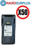 50x Motorola Oem Pmnn4251 Battery Compatible With Cp200 Cp200d Dep450 Dp1400