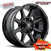 Fuel Off-road D575 Size 20x10 5x5.5/150 Offset -12mm Gloss Black Set Of 4