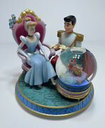 Cinderella Light Up Musical Snow Globe Magical Gown Fairy Godmother Horse