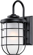 Westinghouse Lighting 6580000 Ferry Vintage One Outdoor Wall Light Sconce, Matte