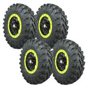 28 System3 Xtr370 Tires 14 Sti Hd9 Wheels Lime Squeeze Rzr 900 Trail Xc S