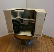 Vintage 1/16 White 2-135 Red Stripe Farm Toy Tractor In Original Packaging