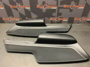 2020 Ford Mustang Gt Oem Driver Passenger Door Panel Cloth Leather Inserts