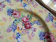 Royal Winton Grimwades Welbeck 1995 Bread Plate Set Of 2 Yellow Chintz 6andrdquo Roses