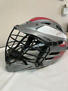 Cascade Cpx-r Lacrosse Lax Helmet Grey Cpxr Seven Size Chinstrap