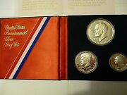 1976 United States Mint Bicentennial Silver Proof Coin Set