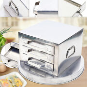 3 Tier Steamer Drawers Cooker Food Steaming Baking Rice Noodle Roll Machine New