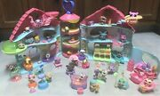 Lps Littlest Pet Shop Biggest Playset House 32 Pets And Lots Of Accessories