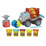 Play-doh Buzzsaw Logging Truck Toy With 4 Non-toxic Colors 3-ounce Cans