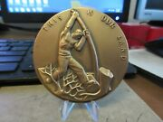 1962 Society Of Medalists 66 Land And Heritage By Carl Mose Bronze Maco