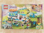 Lego 41339 Friends Miaand039s Camper Van New Sealed Free Shipping In Box Bus Horse