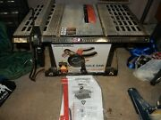 Central Machinery Table Saw 97896 2.4 Hp