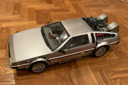 Back To The Future Delorean Time Machine Mms260 1/6 Scale Collectible Car Japan
