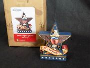 Jim Shore Heartwood Creek Never Forget Eagle Star 6003977 Support Our Troops