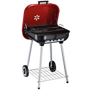 Portable Bbq Barbecue Grill Charcoal Backyard Camping Balcony Outdoor Cooking