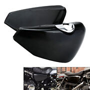 Left / Right Battery Side Covers Clip Fit For Harley Sportster Xl 883 1200 14-21