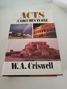Acts In One Volume By W. A Criswell - Hardcover