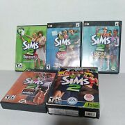 The Sims 2 And Expansions Pc Lot Pets, University, Open For Business, Bon Voyage