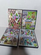 The Sims 3 + Expansion Packs Lot Of 3 Pc, Pets, Generations, Town Life