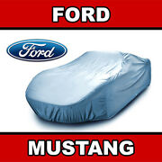 Fits. [ford Mustang] Car Cover ☑️ 100 Waterproof ☑️ All-weather ✔custom✔fit