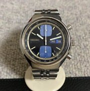 Vintage Seiko Speedtimer 6138-8030 Menand039s Watch Automatic Used Authentic