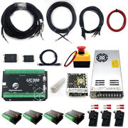 Mach3 Usb 4 Axis Uc300 Controller Kit For Queenbee Work-bee Cnc Router Machine