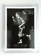 2016-17 Panini Noir Gold 2 Lionel Messi Argentina 'ed 75/75 Like A 1/1