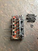 Oem Kubota D662-e Cylinder Head With Bolts Injectors Glow Plugs Valves