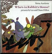 Leo And Diane Dillon, Who's In Rabbit's House 1977, 1st Edition In Dj