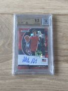 2020 Panini Prizm Dp Lamelo Ball Red Ice Bgs 9.5 Auto 10 Roy