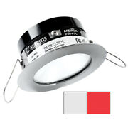 I2systems Apeiron Pro A503 - 3w Spring Mount Light - Round - Cool White And Red