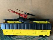Lionel O Gauge 3619 Helicopter Recon Car
