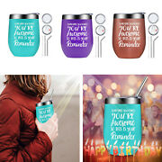You Are Awesome Cup Wine Tumbler Stainless Steel Double-layer Vacuum Flask