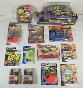 New And Sealed Huge Jeff Gordon Lot Of 15 Cars Disney Hot Wheels Toys R Us