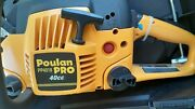 Nib Poulan Pro Pp4018 40-cc 2-cycle 18 Chainsaw W/ Case And 18 Chain