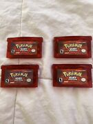 Pokemon Ruby Version For Gameboy Advance Authentic W New Battery